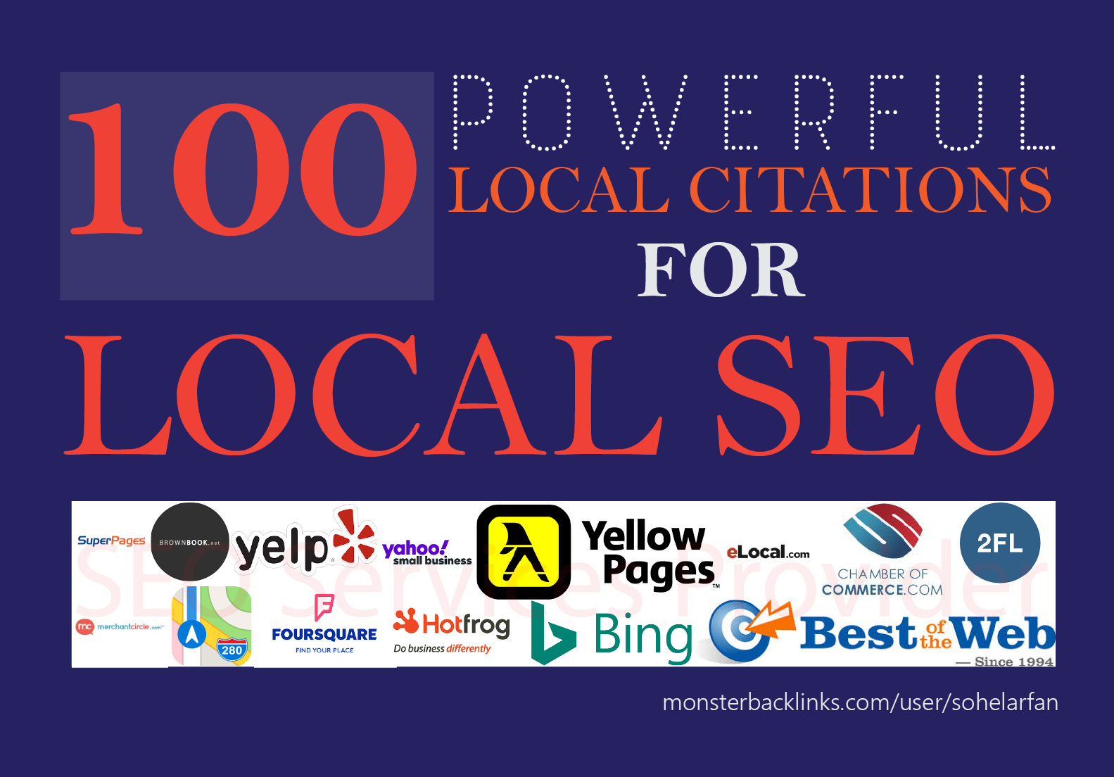 Boost Google 1st Page Ranking with local citations,  business listing
