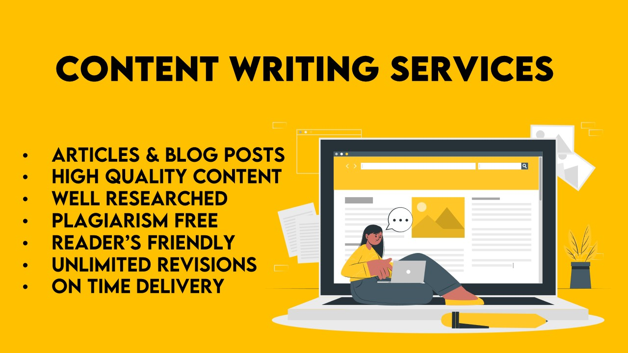 3 x 500 Words High Quality Articles