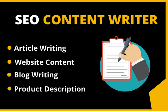 I will research and write 2 x 600 words article,  content or blog post