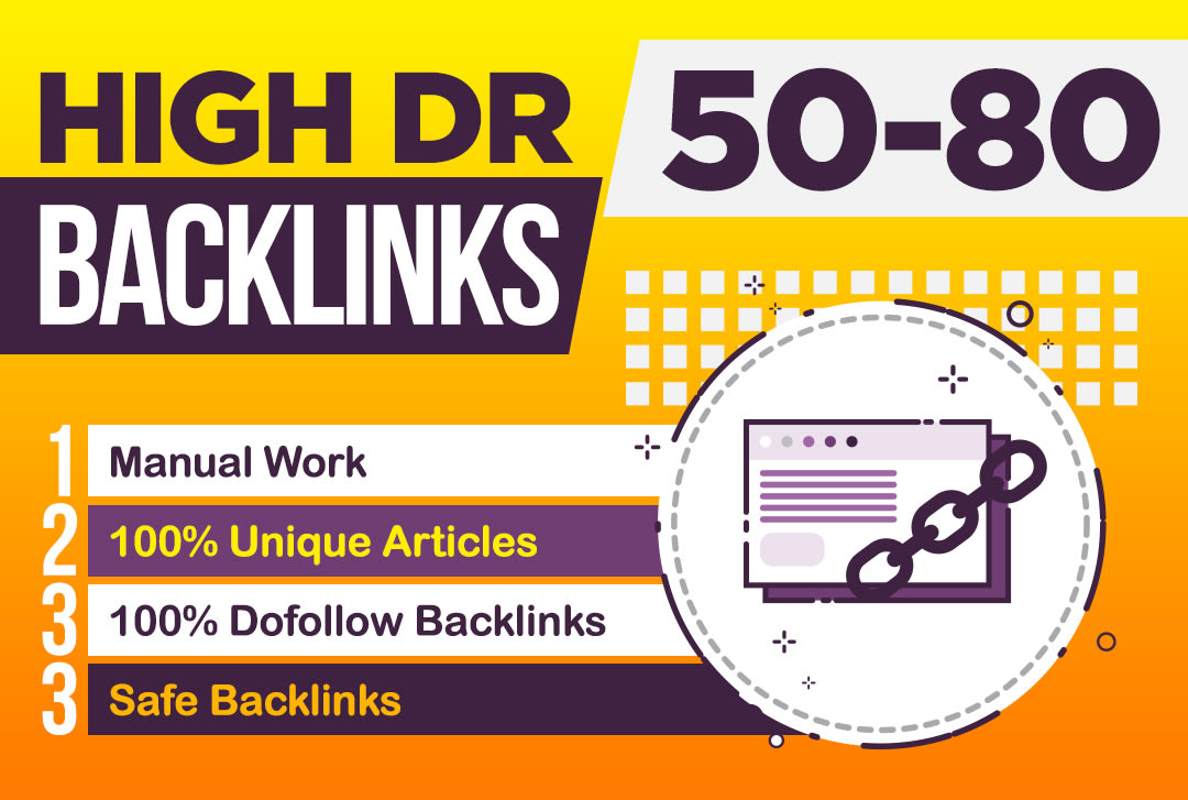 Create 120 high DR permanent dofollow backlinks for off page seo