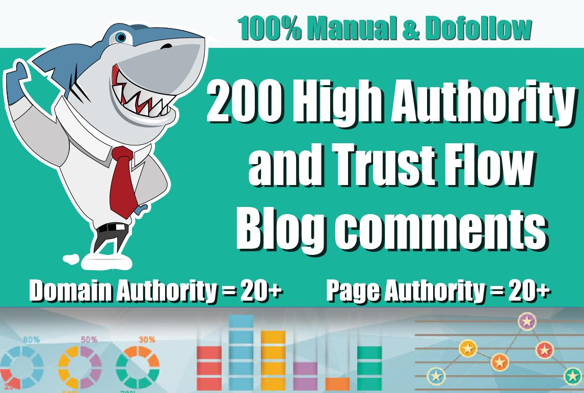 Create 200 Unique Domains Dofollow Blog Comments