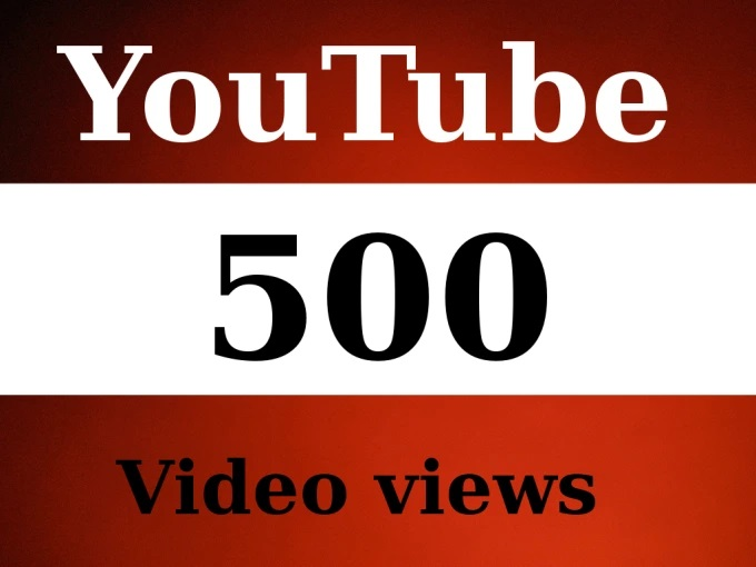 Provide 500+ Youtube video Vuse to your video fast