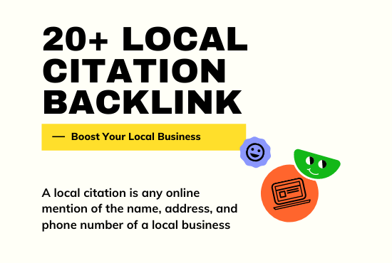 I will rank your Local business with 20+ local citations