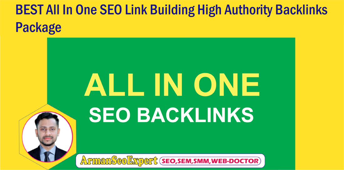 BEST All In One SEO Link Building High Authority Backlinks Package