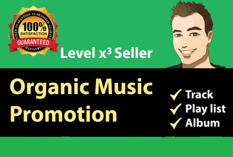 Premium music streaming service by real promotion