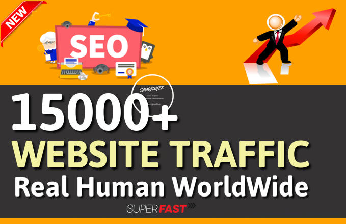 Get 15000+ Real WorldWide Traffic to Your Website