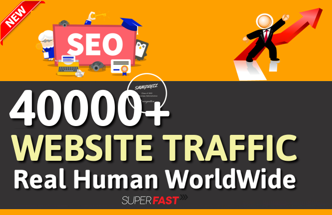 Get 40000+ Real WorldWide Traffic to Your Website