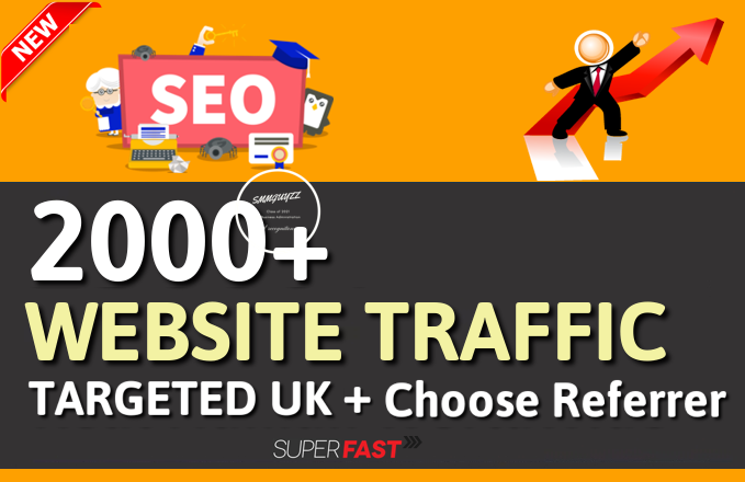 Get 2000+ Website Traffic From UK With Choose Referrer
