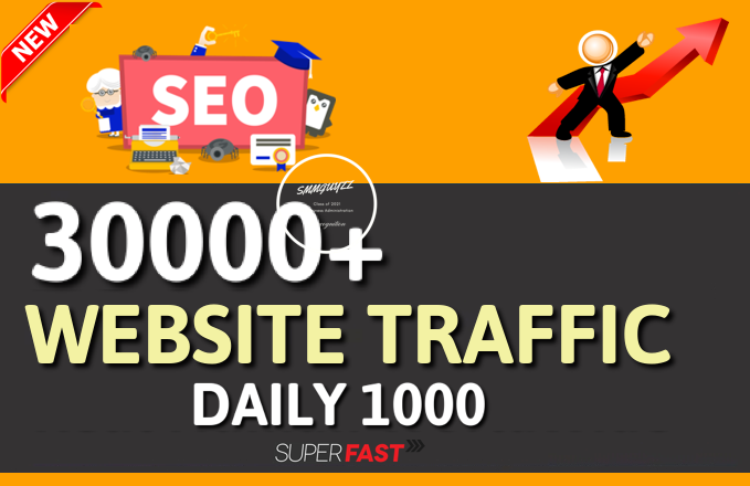Get 1000+ Daily Traffic to your Website for 30 Days