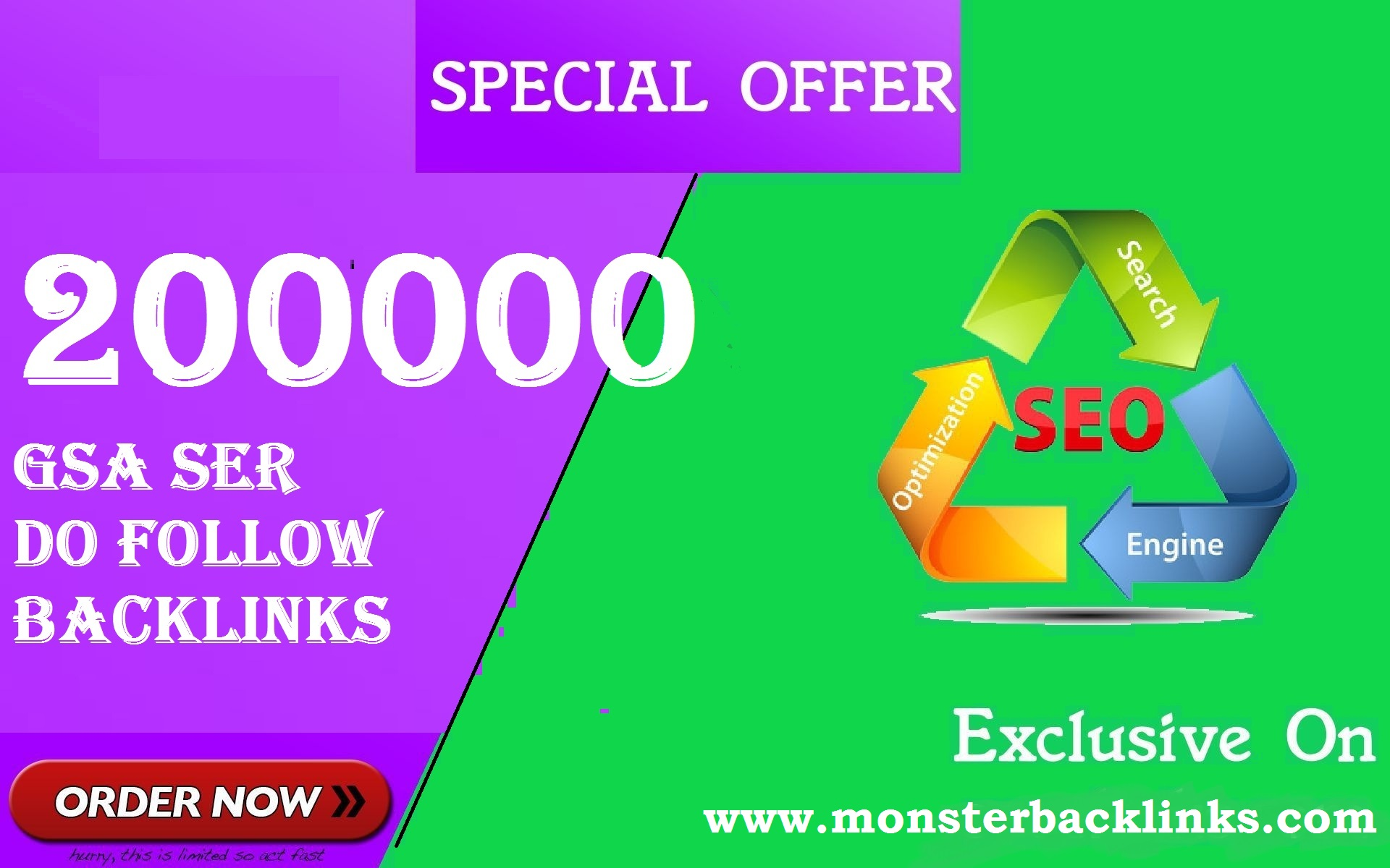 SEO 200,000 GSA Dofollow Links for Boosting Ranking in Google SERP for 1