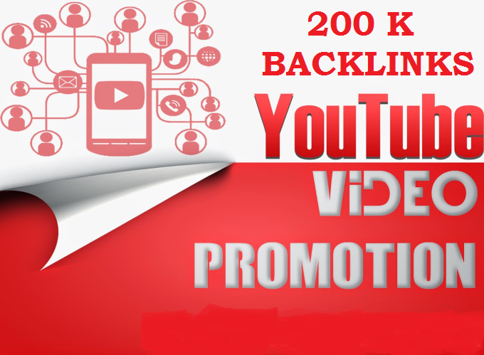 200,000 Verified Youtube Backlinks to rank and Permote your video on Google SERP for 1