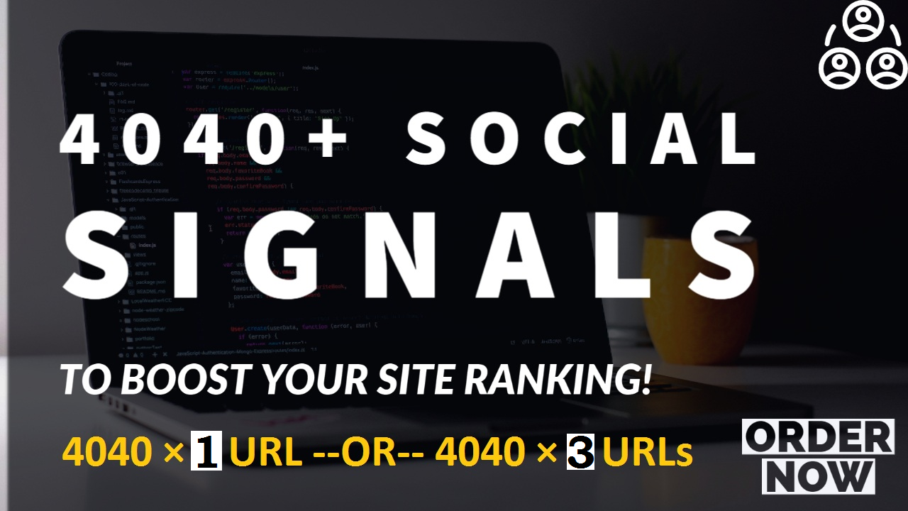 manullay done 4040 mixed social signals backlink,  top 6 media sites