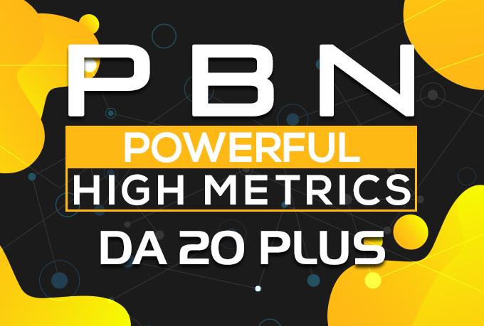 Build 10 High PA DA TF CF HomePage PBN Backlinks - Dofollow Quality Links