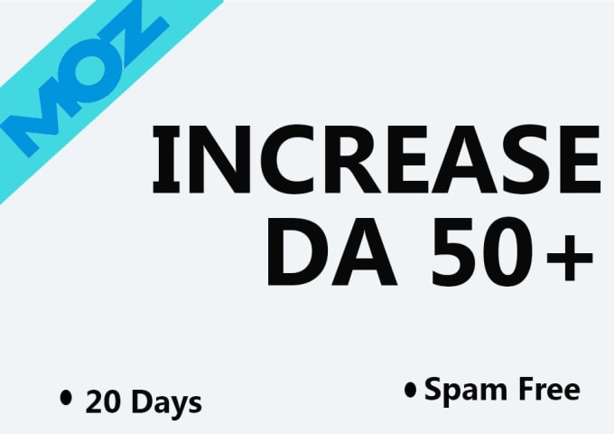 increase domain authority da 50 plus