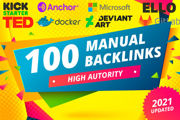 100 Best Quality High Authority SEO Backlinks Top Ranking Sites On Google