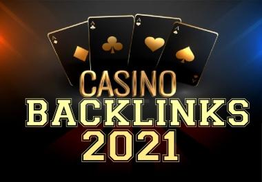 200+ LATEST UPDATE 2021-CASINO/GAMBLING/POKER Niche PBNs & Profile+500k Tier-2 Boost Google 1st Rank