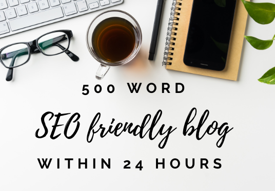 I will write 500 words within 24 hours delivery