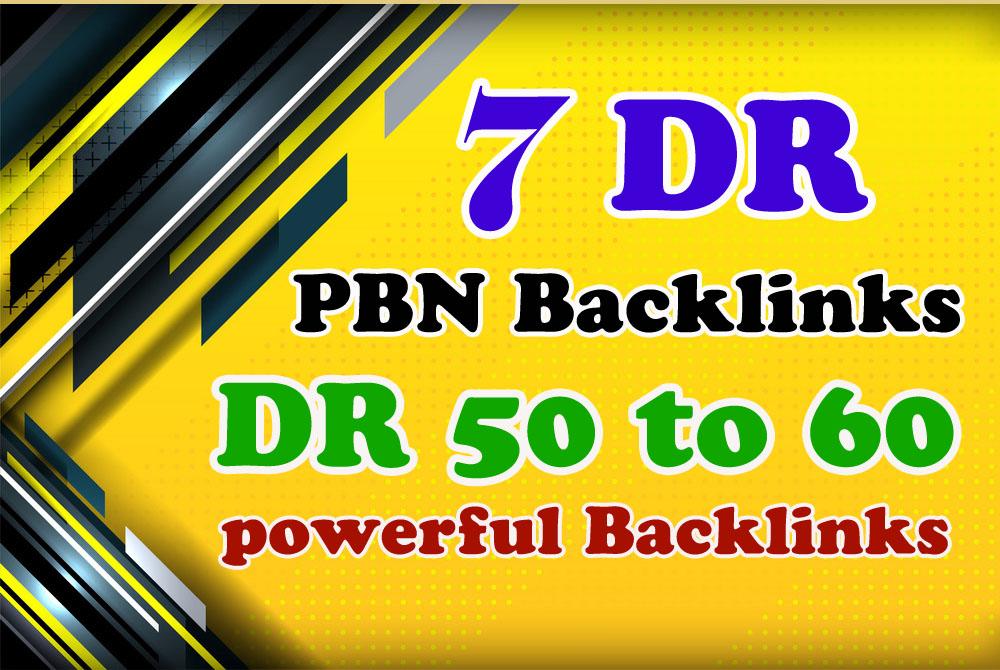 Create 7 DR 50+ Permanent Dofollow PBN Links
