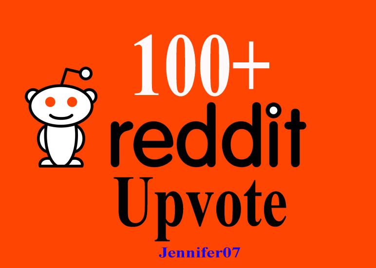 100+ Reddit real Upvotes to Your Reddit Post