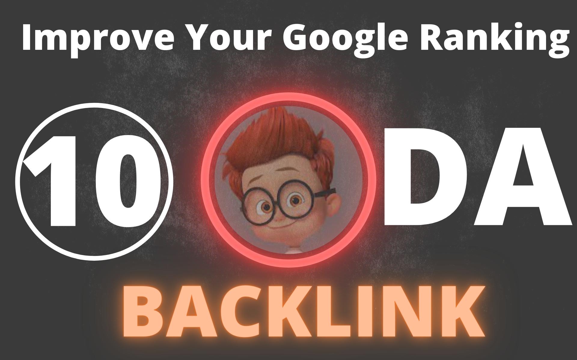 I Will Manually Do 10 High DA 90+ Quality Backlink For Improve Google Ranking