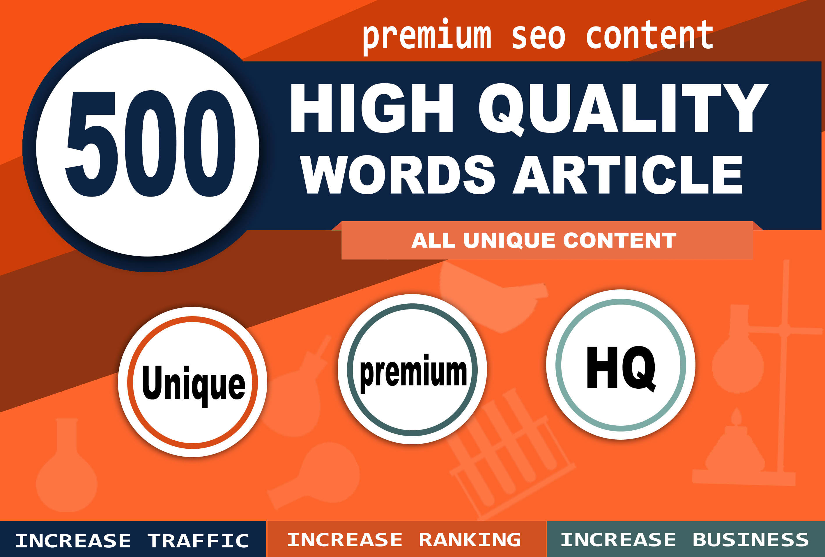 500 words high quality article within 24hrs