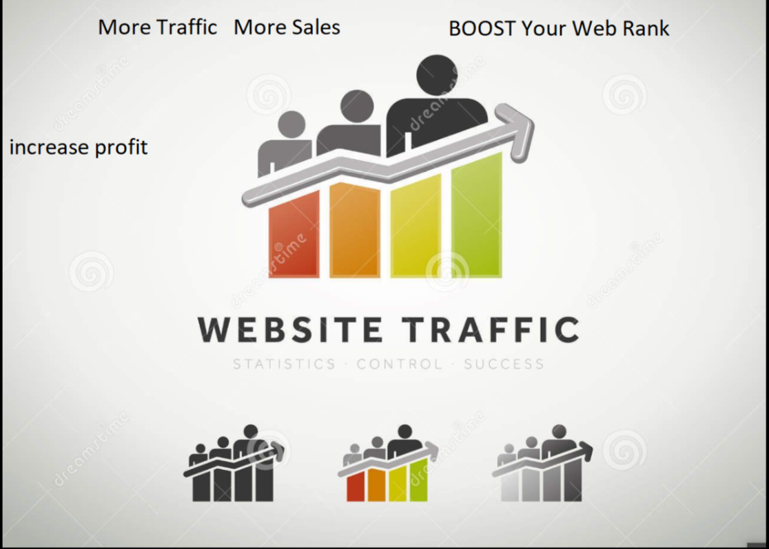 Real 40,000 Human Visitors From worldwide Traffic to your Website