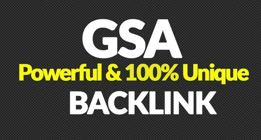 I will Create 2 Million Authority Quality GSA SER Verified Backlinks