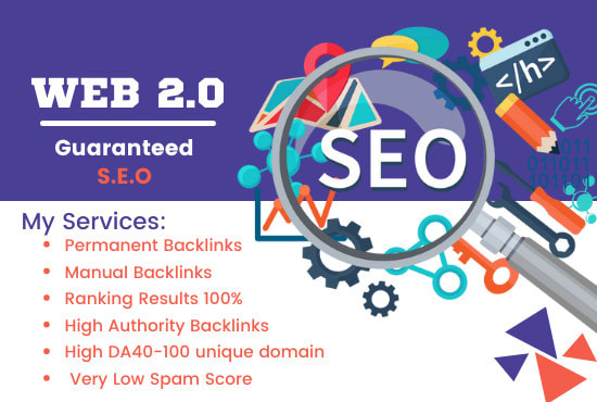 Build 200 dofollow web 2 0 backlinks for top ranking