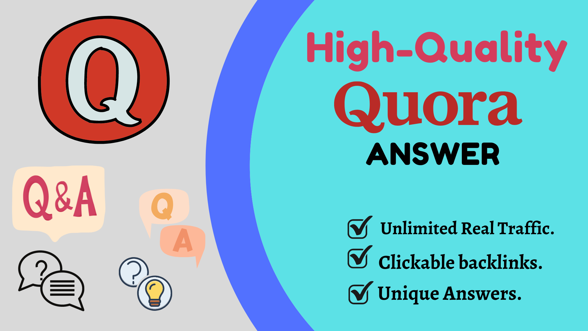 Promote Your Website with 100 High-Quality Quora Answer