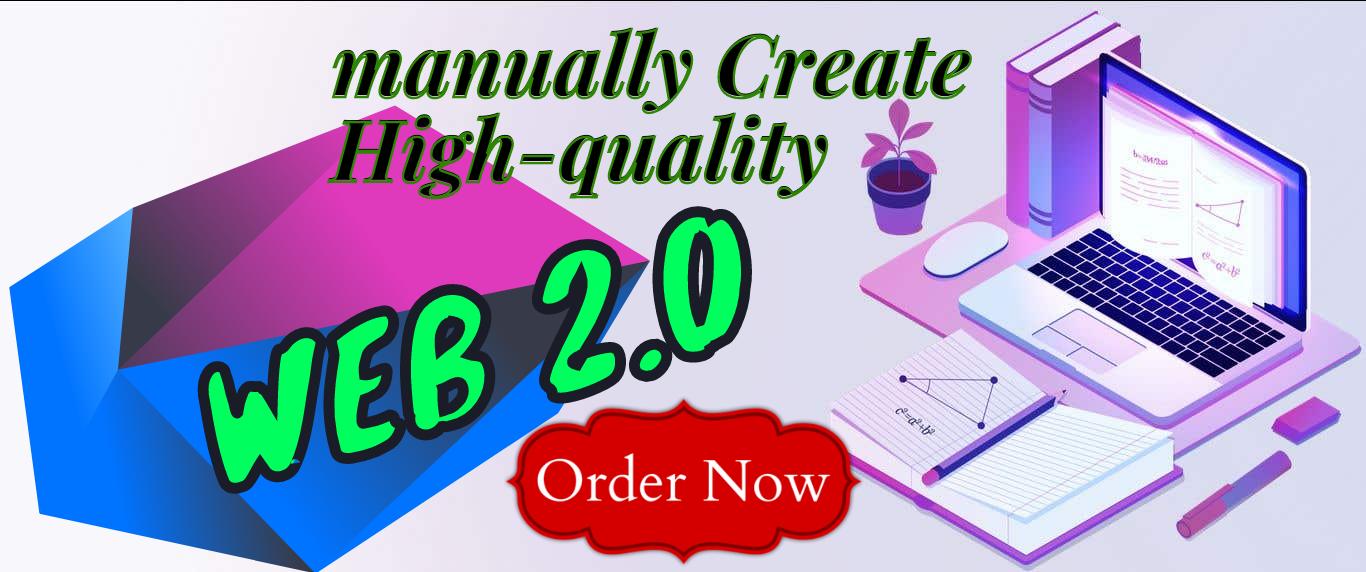 I Will manually Create 150+ High-Quality Web2.0 do-follow blogs Backlinks
