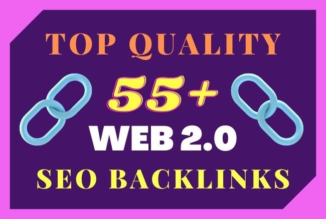 Get 55+ Top Quality WEB 2 0 HOMEPAGE SEO backlinks Buy-3 Get 1-free Best Service in Monsterbacklinks