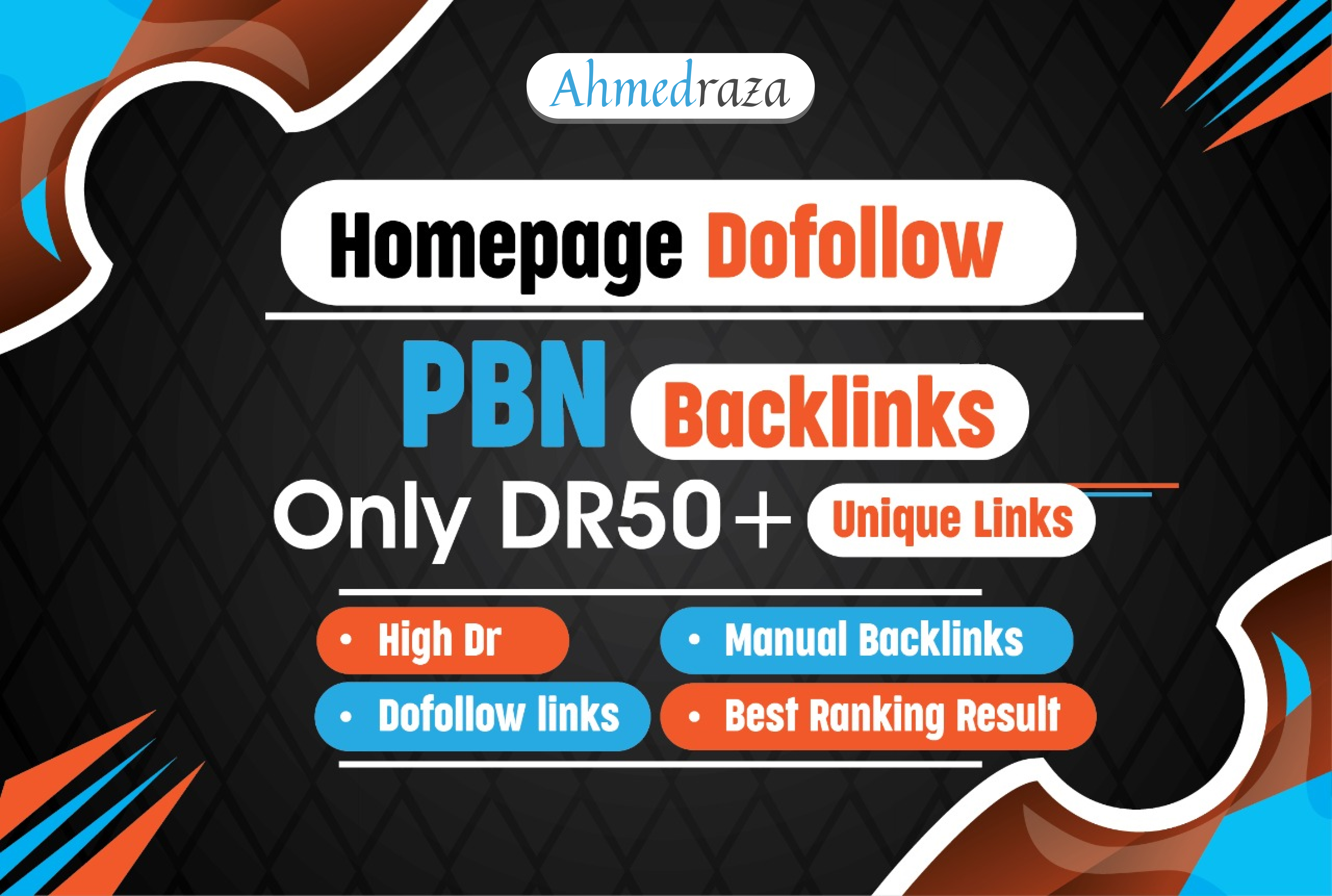 I will 15 PBN high DR 50 plus homepage doffolow backlinks
