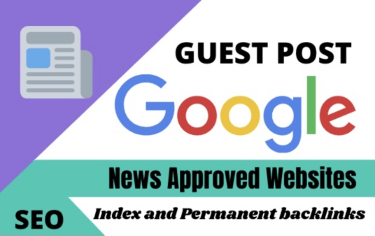 Guest Post On Google News Approved Websites