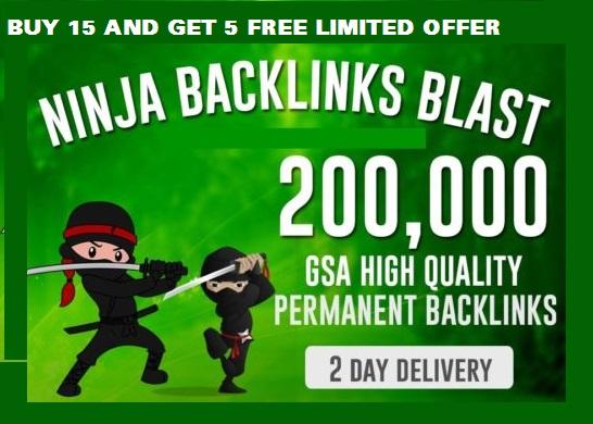 1000,000 SEO Backlinks for Website Ranking