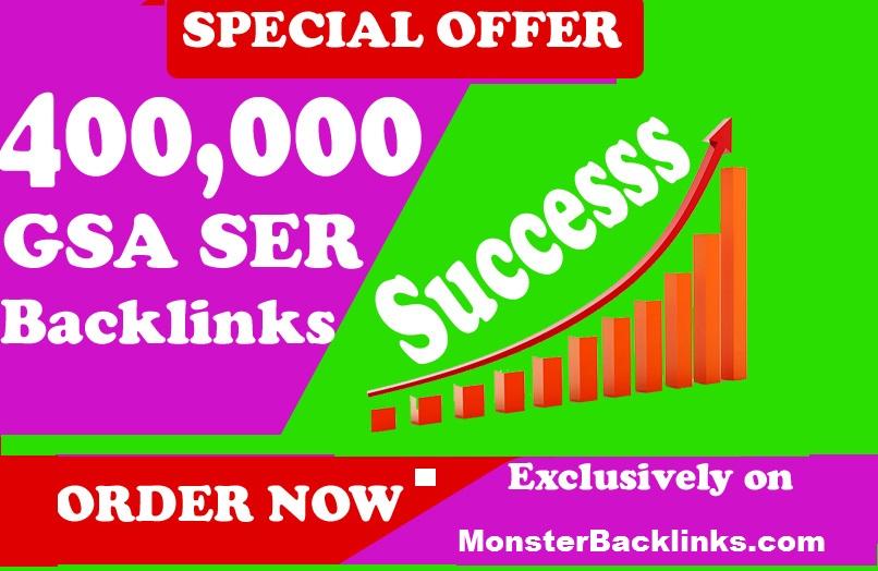 4000,000 Authority Quality GSA SER Verified Backlinks for SEO Ranking