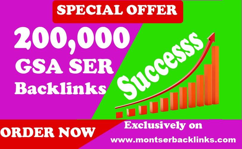 1000,000 GSA SER SEO Website Ranking Backlinks