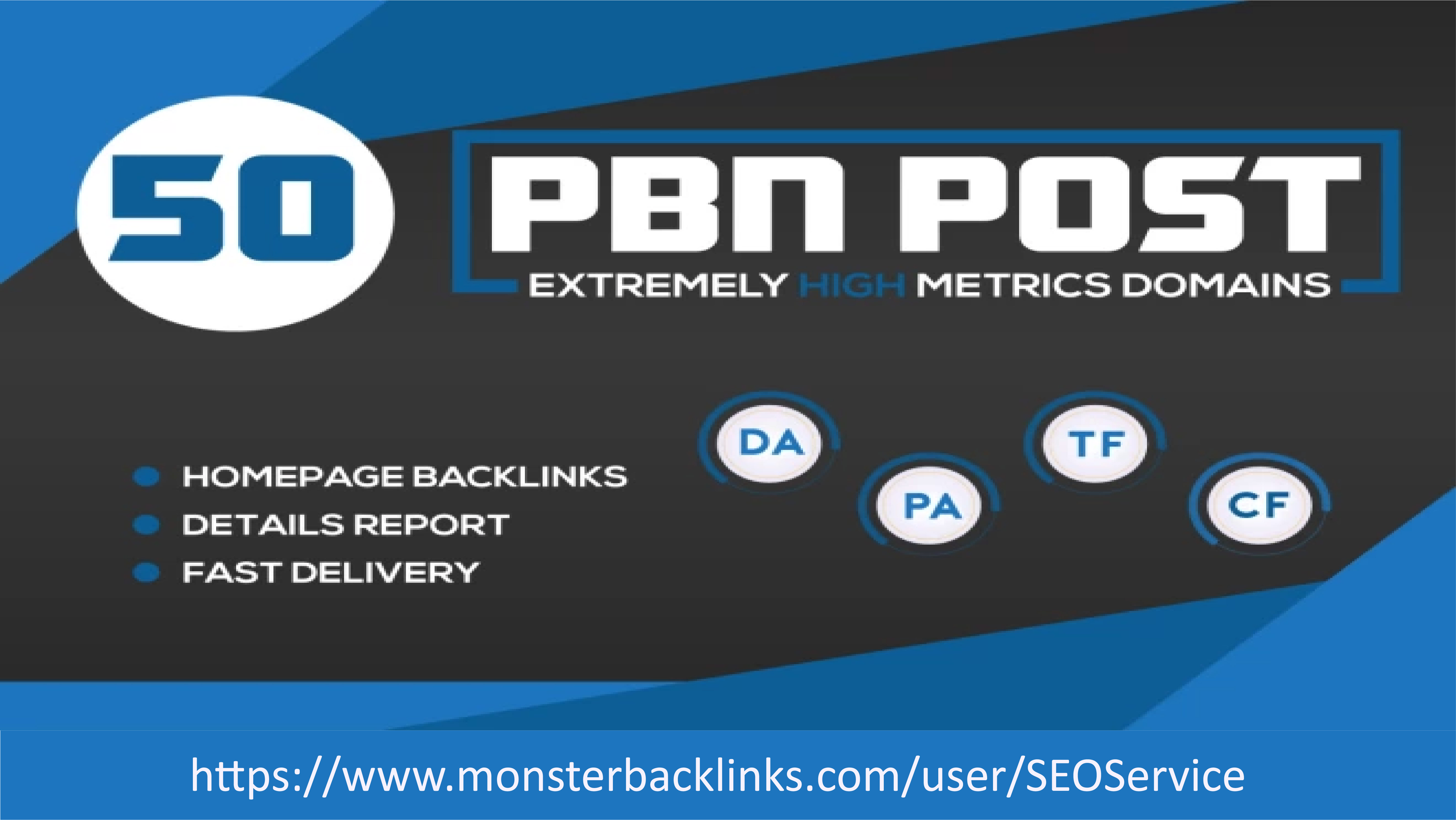 Build 50 High PA DA Homepage PBN Dofollow Backlinks For Your Website