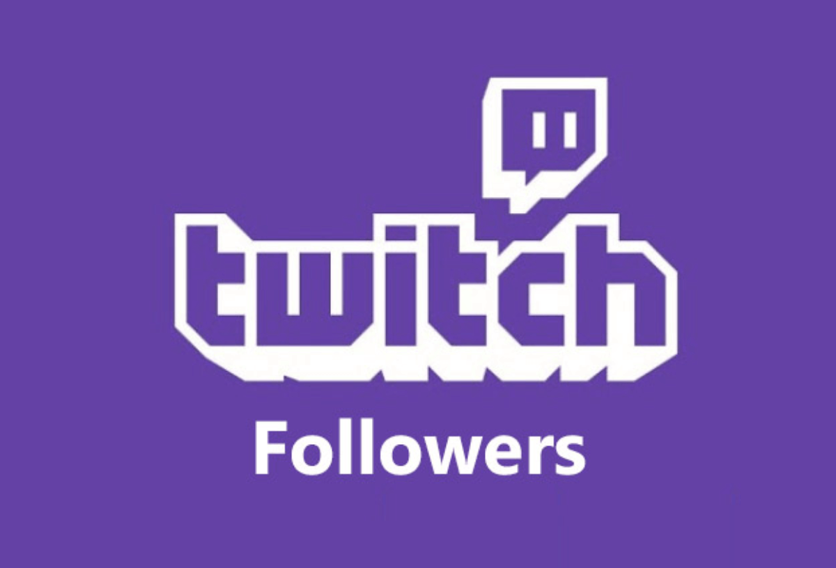 200+ Follows your Twitch channel account