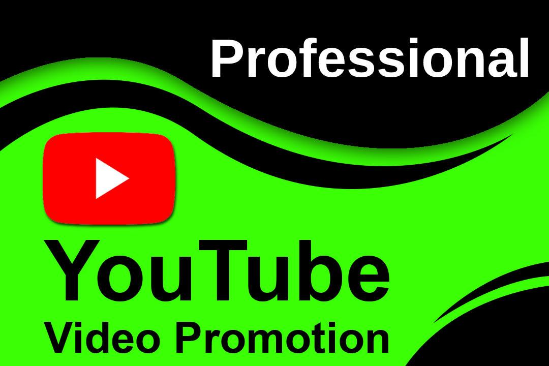 do premium youtube video promotion