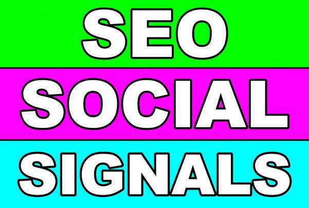 5000 High Quality SEO Social Signals for website Google Ranking