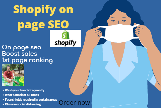 do 6 pages complete shopify on page seo for google ranking