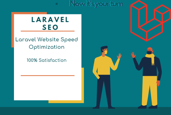 do 5 pages LARAVEL on page SEO optimization
