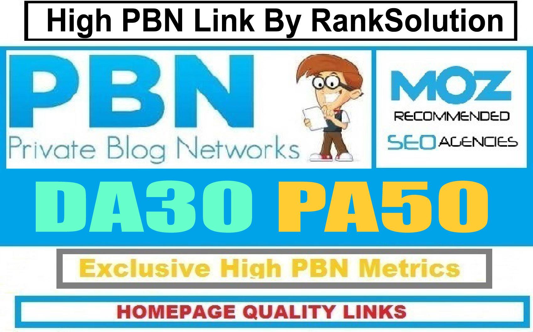 Powerful 6 PBN Backlink PA 50+ Dofollow Homepage Links