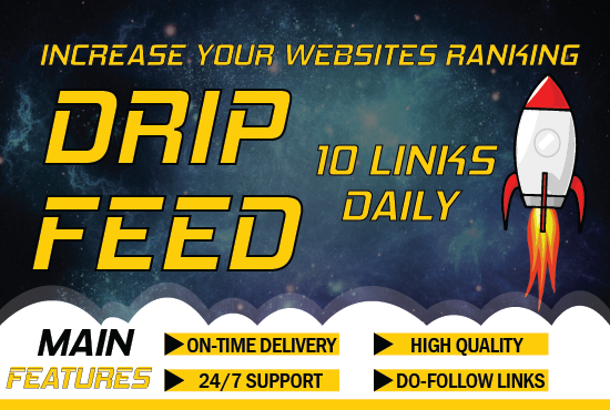 I will create high authority domain backlinks daily for 30 days