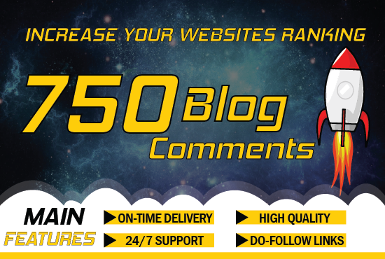 Create 750 High Quality Blog Comment On High Quality Sites