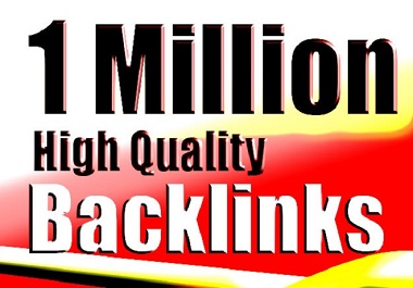 I will do 1 million tier1 gsa ser backlinks to push your rank