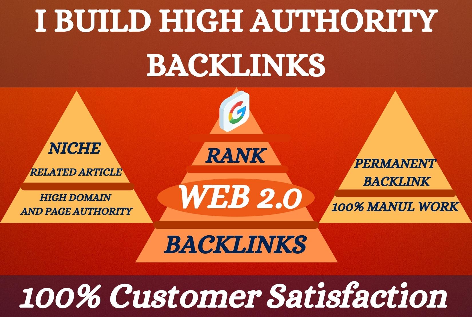 I will build web 2.0 backlinks