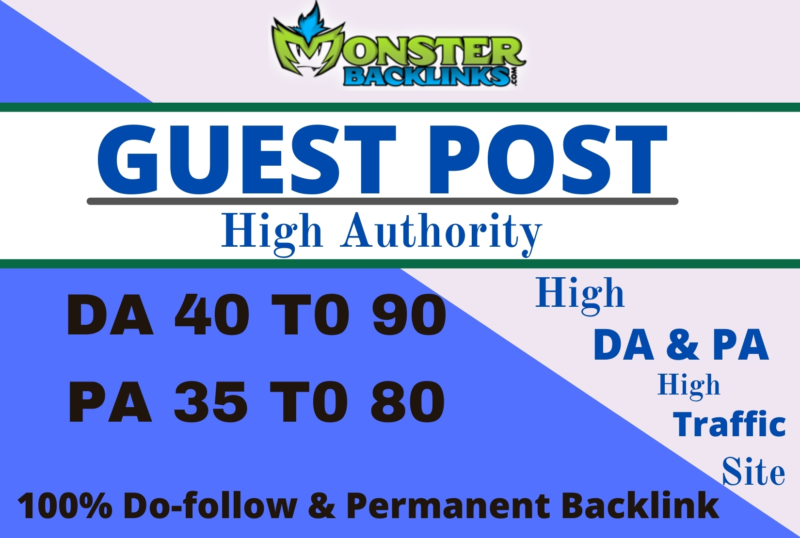 I will write and Published high quality guest post