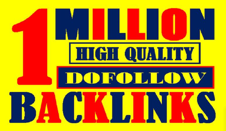Create 1 million SEO check Dofollow blog comment backlinks