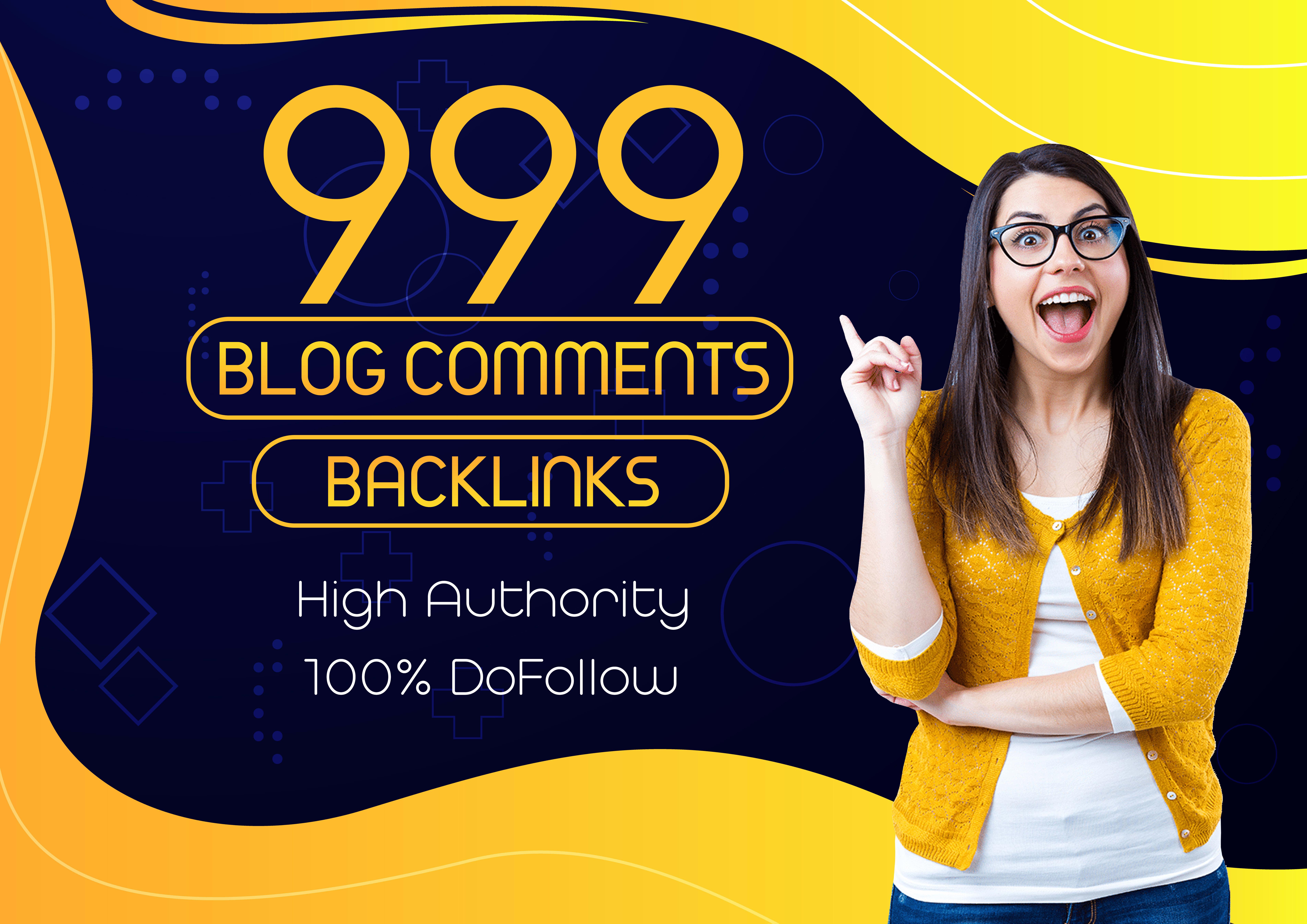 Manually Create 999 Dofollow Blog Comments SEO Backlinks